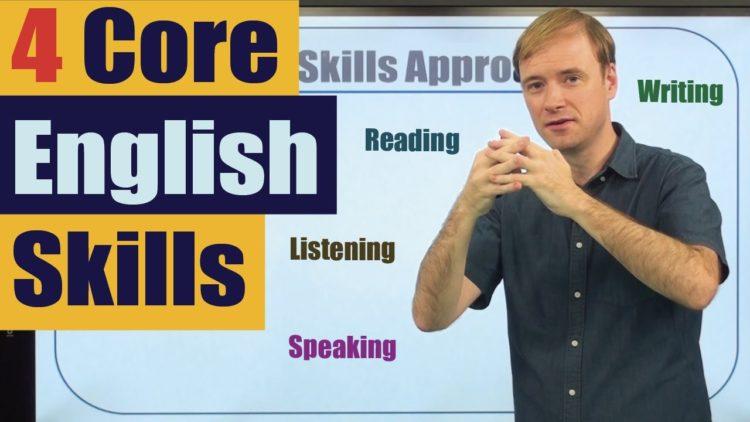 How to Study English: 4 Core English Skills